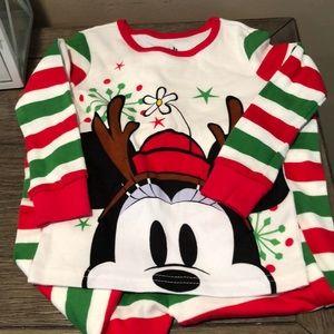 Disney Minnie Mouse Christmas pajamas 18-24 months